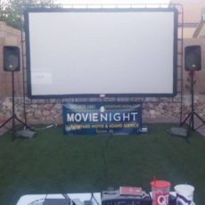 Outdoor movie Screen Tucson, Az